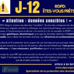 RGPD J-12 ... Attention : données sensibles !