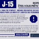 RGPD J-15 ... analyse d'impact au programme